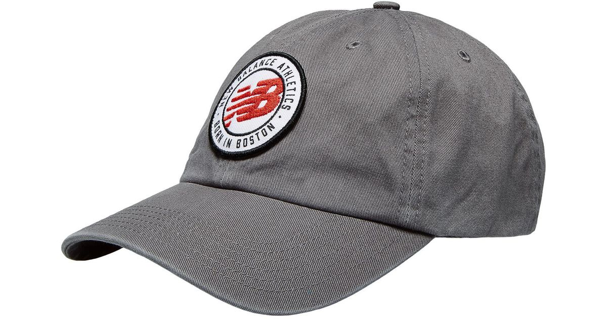 Curved Hat New men Panel Brim for Gray 6 Balance cl3TF1JK