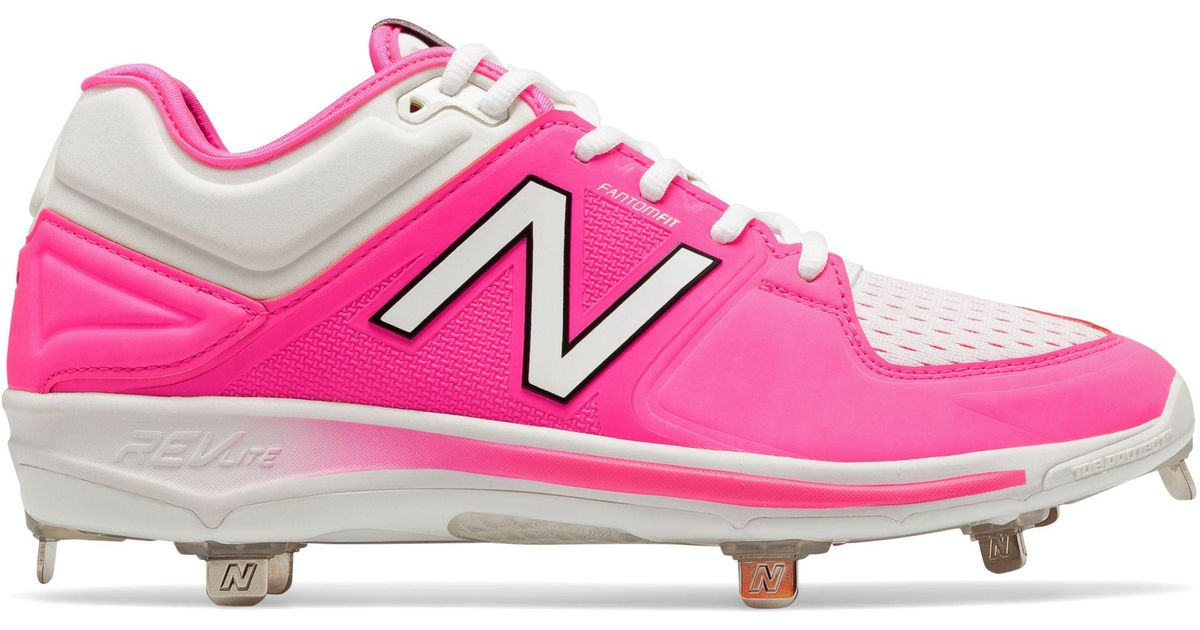 9cdce7c9b04eb New Balance Mothers Day Pink Ribbon Low-cut 3000v3 in Pink - Lyst