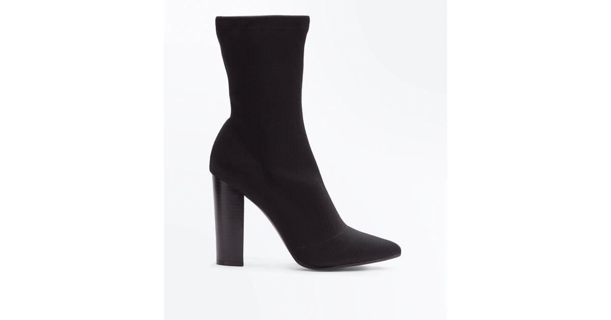 New Look Women Grey Anita Ankle Block Heel Boots