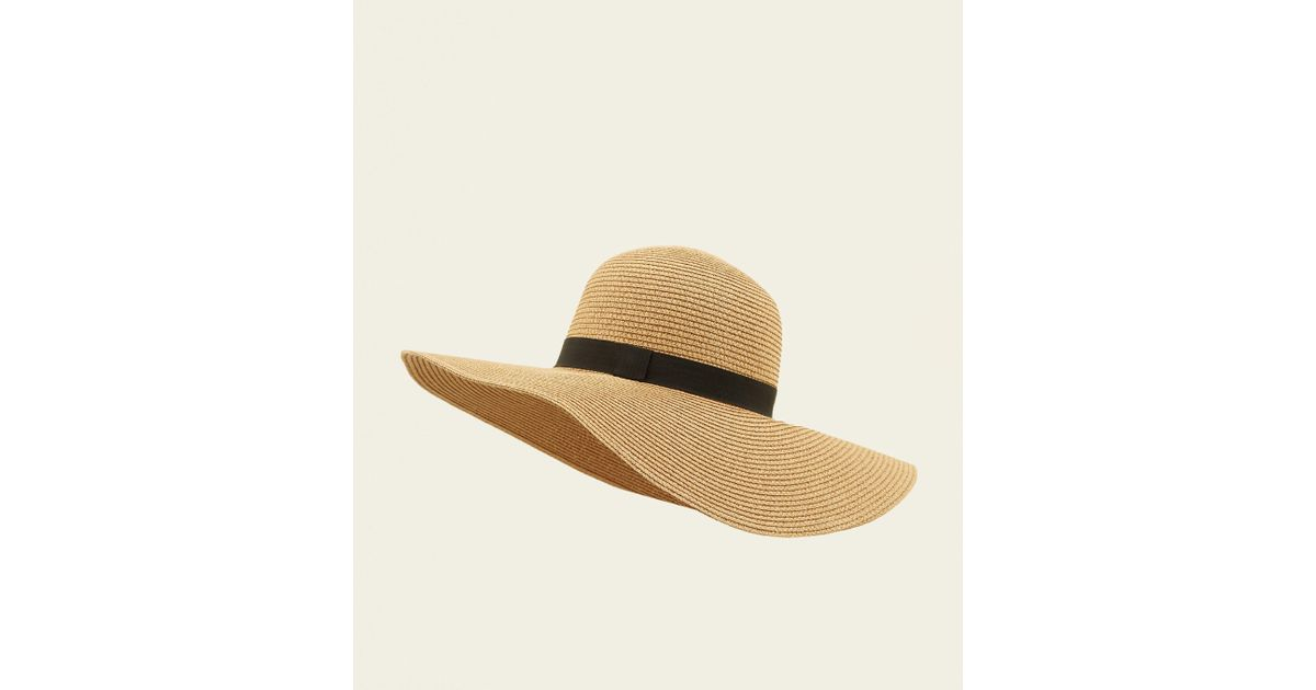088204be39b New Look Stone Straw Floppy Hat in Natural - Lyst