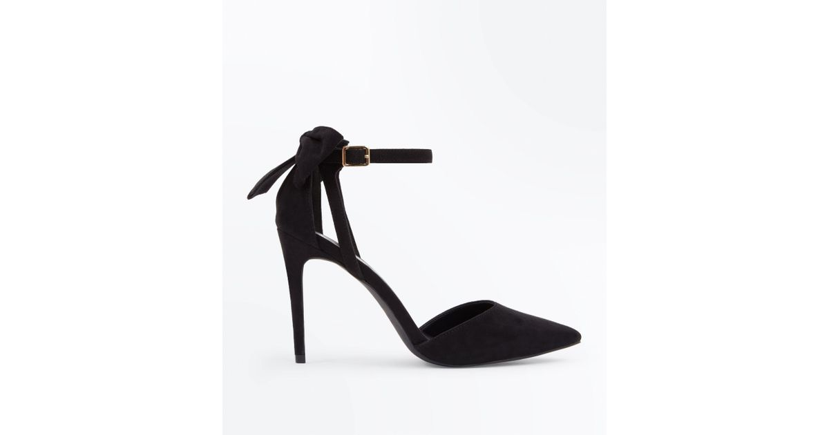 High Pointed Court - Black New Look AncYwe