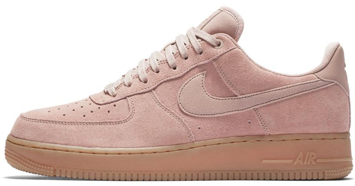 01b811497cde8f Lyst - Nike Air Force 1 07 Lv8 Suede Men s Shoe in Pink for Men
