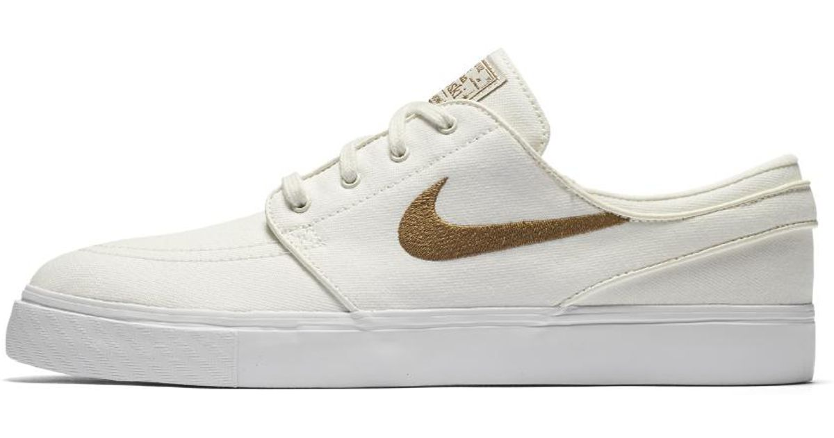 brand new 07adc 5dad1 Lyst - Nike Sb Zoom Stefan Janoski Canvas Men s Skateboarding Shoe in  Natural for Men