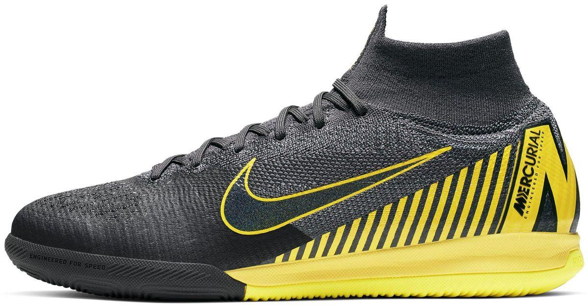 c076f342b219e Nike Black Superflyx 6 Elite Ic - Size 8.5 for men