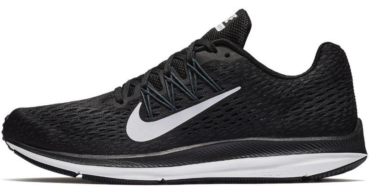 61f8f2fee4ed Lyst - Nike Air Zoom Winflo 5 Men s Running Shoe in Black for Men - Save 23%