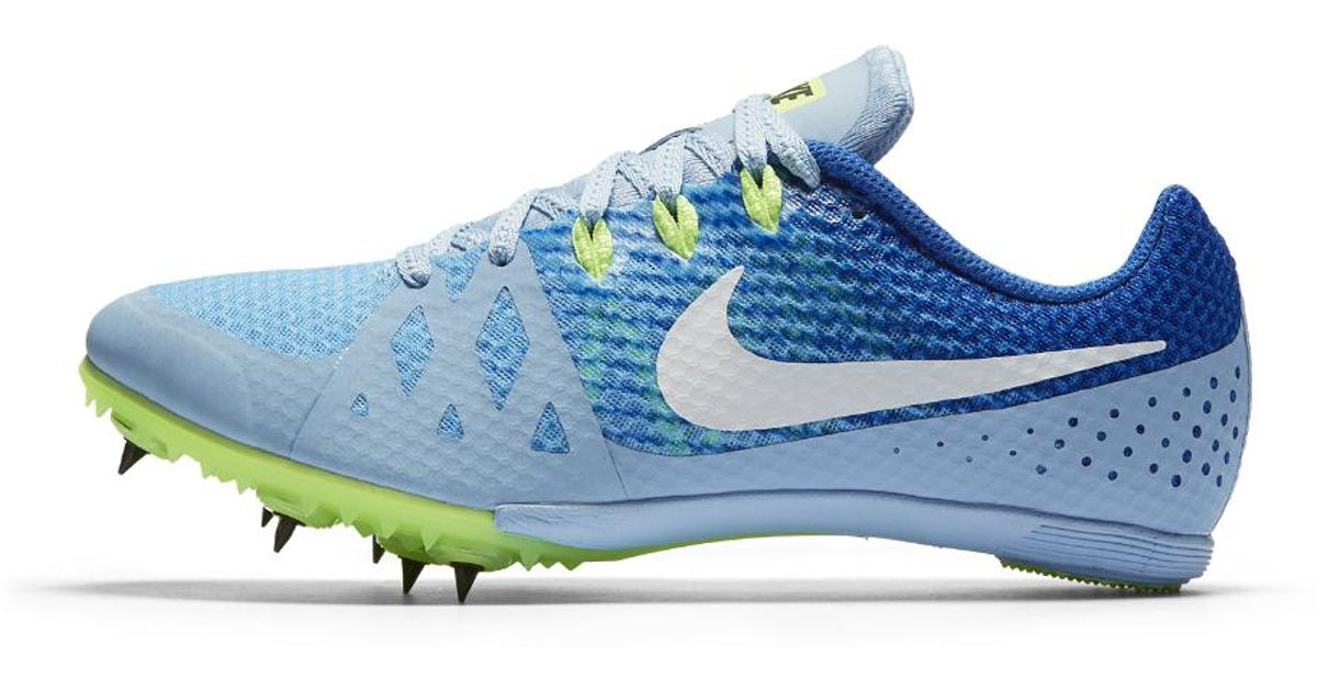 meet 4c08c 77e8f Lyst - Nike Zoom Rival M 8 Womens Track Spike in Blue