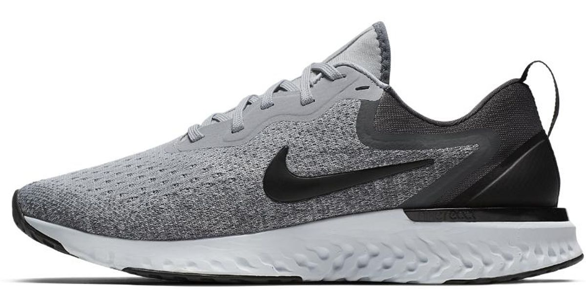 bdb14f22c9e5 Lyst - Nike Odyssey React Running Shoe in Gray - Save 59%
