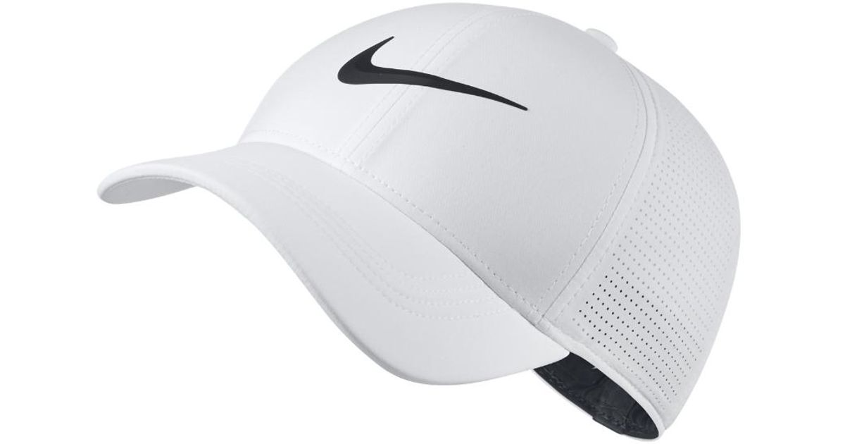 39e9bfdb139 Lyst - Nike Aerobill Legacy 91 Fitted Golf Hat in White for Men