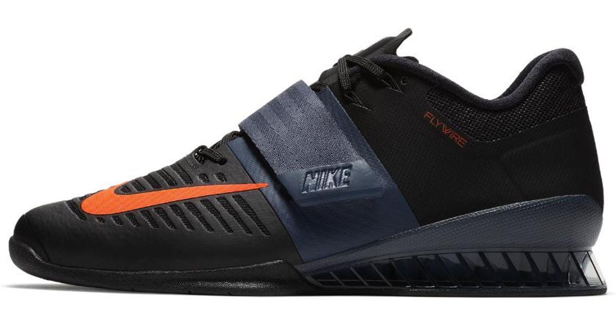 Nike Romaleos 3 Weightlifting Shoe in