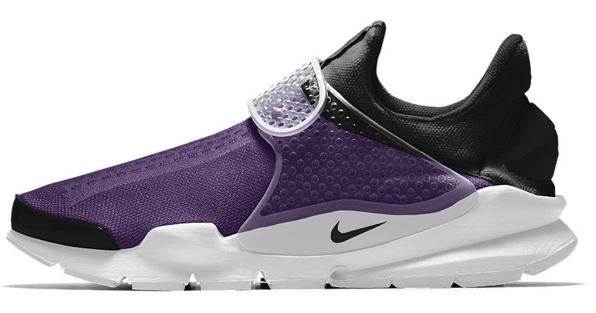 sale retailer ad157 9f5bf ... real lyst nike sock dart id mens shoe in purple for men save  47.64705882352941 a153a 8747f
