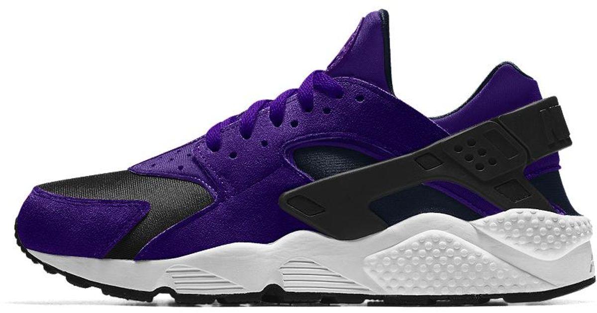 Women's In Lyst Huarache Air Purple Id Shoe Essential Nike 0qU1X