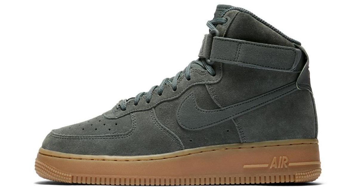 Nike Leather Air Force 1 High Se Women