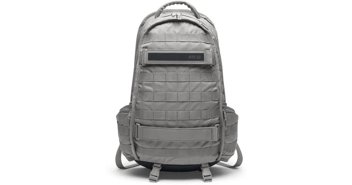 Sb Rpm Skateboarding Backpack (grey