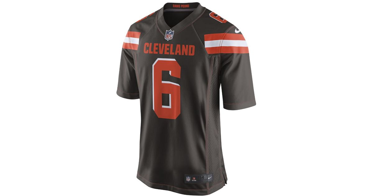 premium selection 9a497 31fb6 Nike Multicolor Nfl Cleveland Browns (baker Mayfield) Game Football Jersey  for men