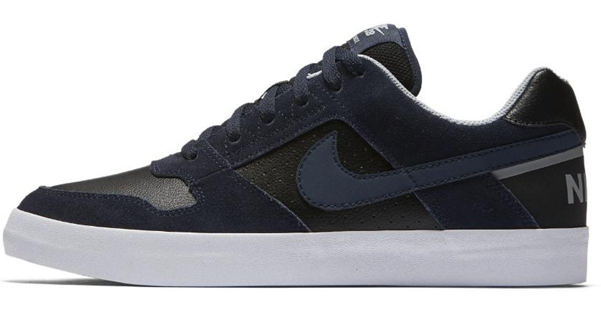 5b8708820ece Lyst - Nike Sb Delta Force Vulc Men s Skateboarding Shoe in Black for Men