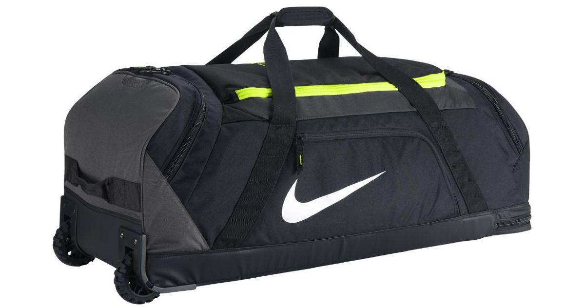 Nike Mvp Elite Roller Baseball Bat Bag Black For Men