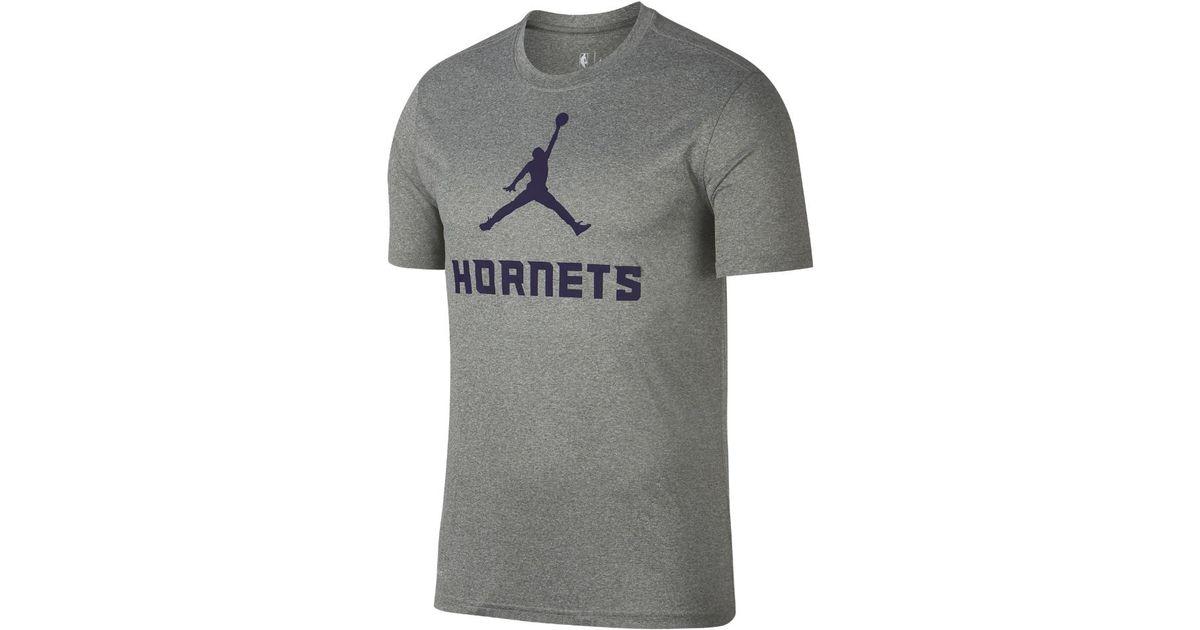 96d61d8ebb55ea Lyst - Nike Charlotte Hornets Dry Men s Nba T-shirt
