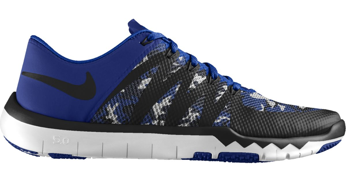 ffe134d92a8 Lyst - Nike Free Trainer 5.0 V6 Id Men s Training Shoe in Blue for Men