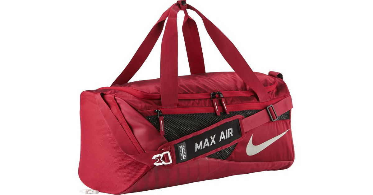 56944820c389 Lyst - Nike College Vapor (stanford) Duffel Bag (red) in Red for Men
