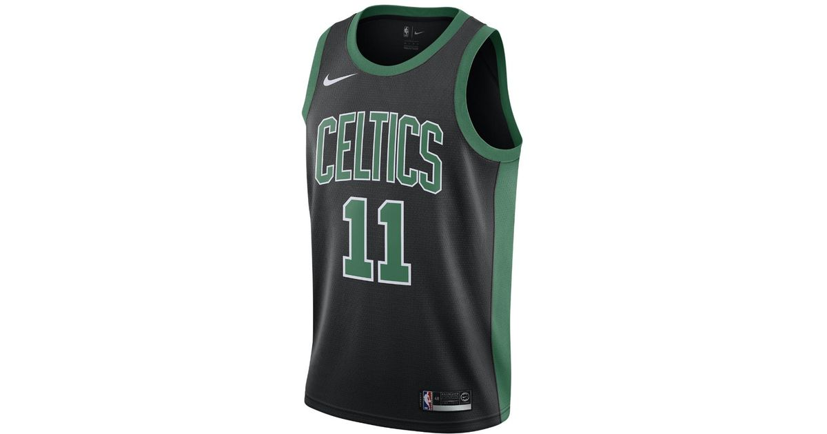 46f1b477a Lyst - Nike Kyrie Irving Statement Edition Swingman Jersey (boston Celtics) Men s  Nba Connected Jersey in Black for Men