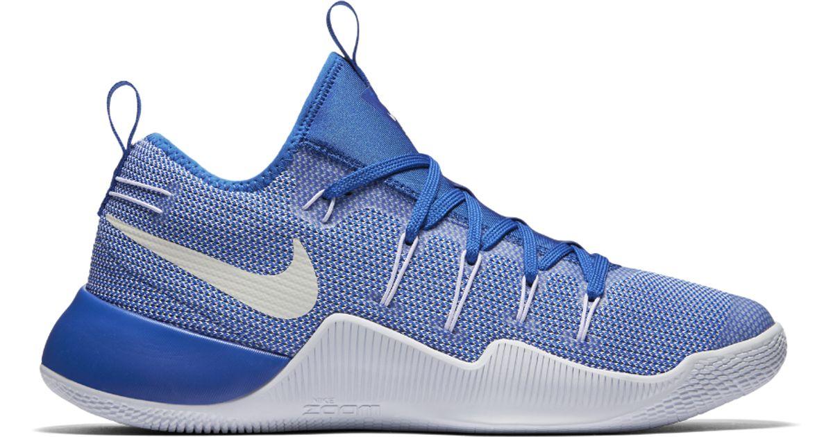 pretty nice 8e926 8073b ... best price nike hypershift team mens basketball shoe in blue for men  lyst 9e786 67101