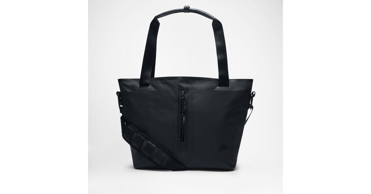 48e6f6b7b7c6 Lyst - Nike Tech Bonded Tote Bag (black) in Black