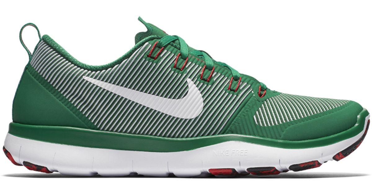 12694aff946e Lyst - Nike Free Tr Versatility Amp Men s Training Shoe in Green for Men