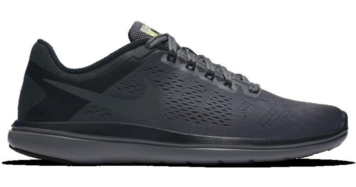 Lyst - Nike Flex 2016 Rn Shield Women s Running Shoe in Gray 4473e5918