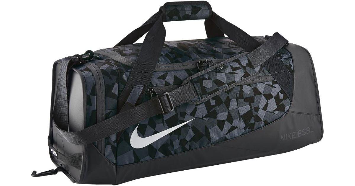 Lyst Nike Mvp Select 2 0 Graphic Baseball Duffel Bag Black In For Men