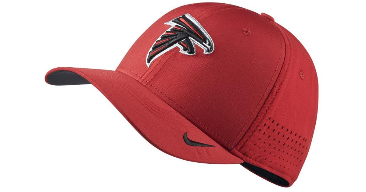 785c4d941 Lyst - Nike Swoosh Flex (nfl Falcons) Fitted Hat in Red for Men