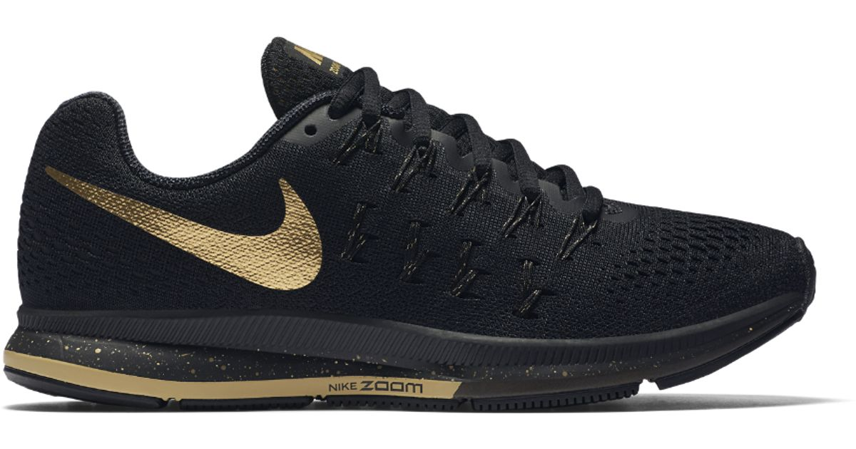 nike zoom pegasus 33 Noir and Or necklace