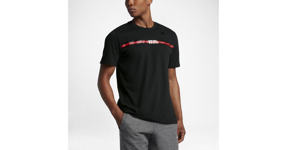 pas cher pour réduction ec8df 63718 Nike Black Sportswear Spiridon Ultra Men's T-shirt for men