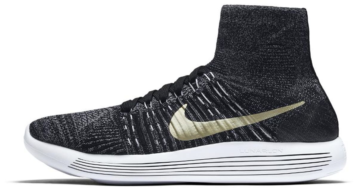meet e9c1d 9e16e Nike Black Lunarepic Flyknit Bhm Men's Running Shoe for men