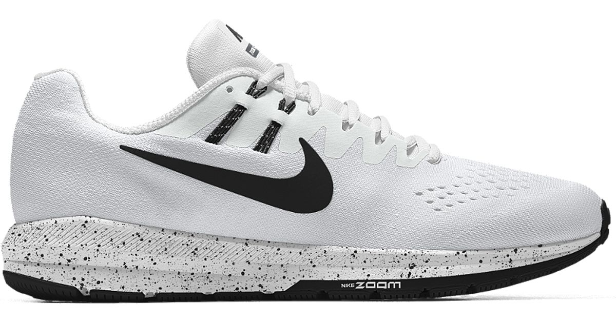 nike air zoom structure 20 id narrow s running shoe
