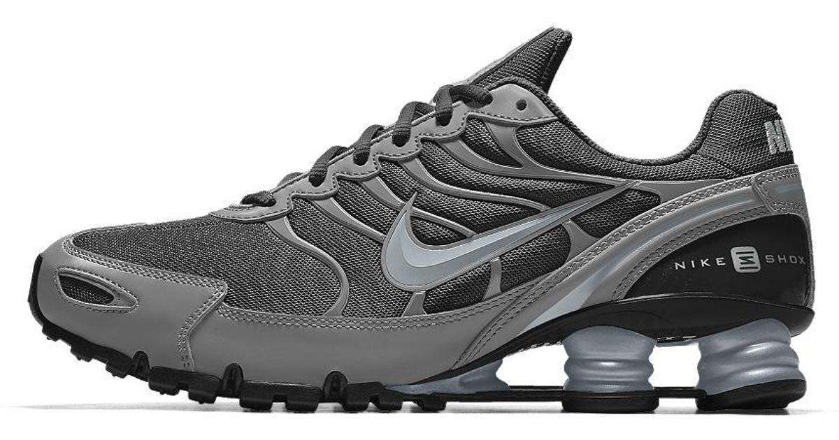 best cheap bd386 3996a Nike Gray Shox Turbo Vi Id Men's Shoe for men