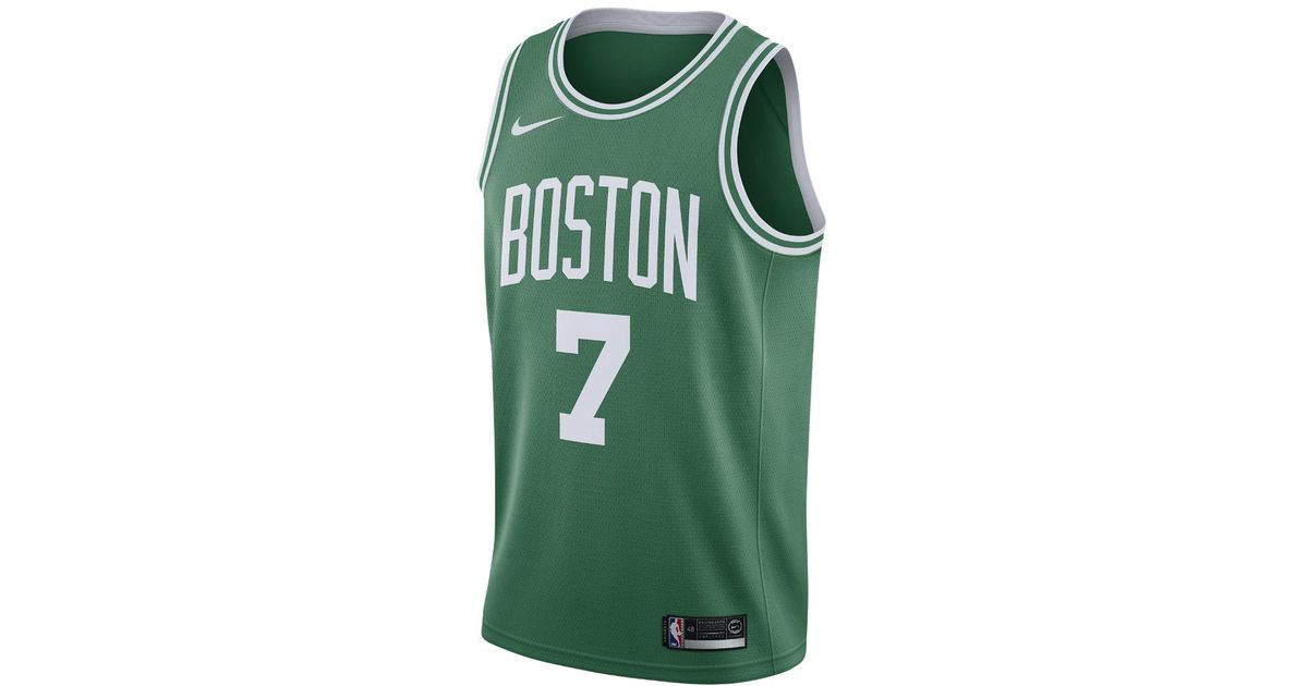1b39992fd Lyst - Nike Jaylen Brown Icon Edition Swingman Jersey (boston Celtics)  Men s Nba Connected Jersey in Green for Men