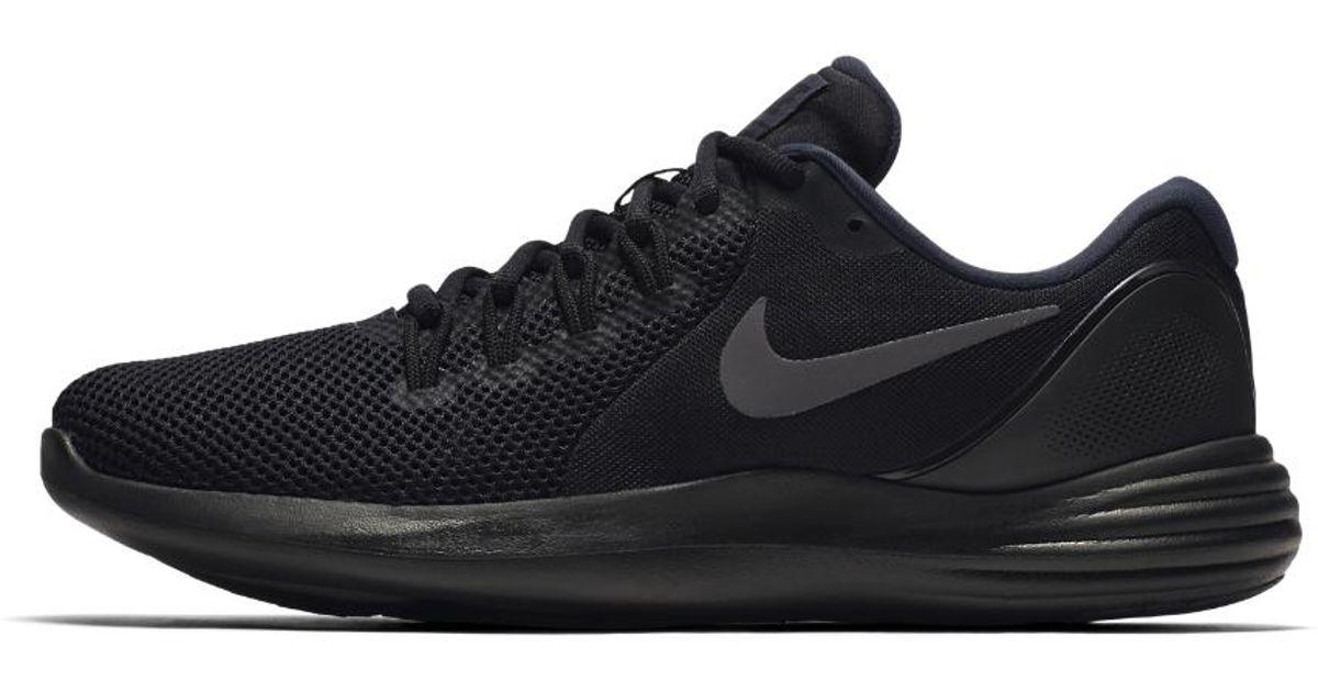 ... Lyst - Nike Lunar Apparent Mens Running Shoe in Black for Me ...