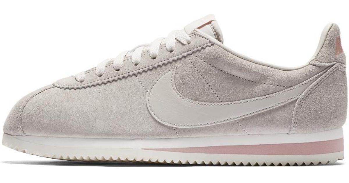 Nike Multicolor Classic Cortez Suede Women's Shoe