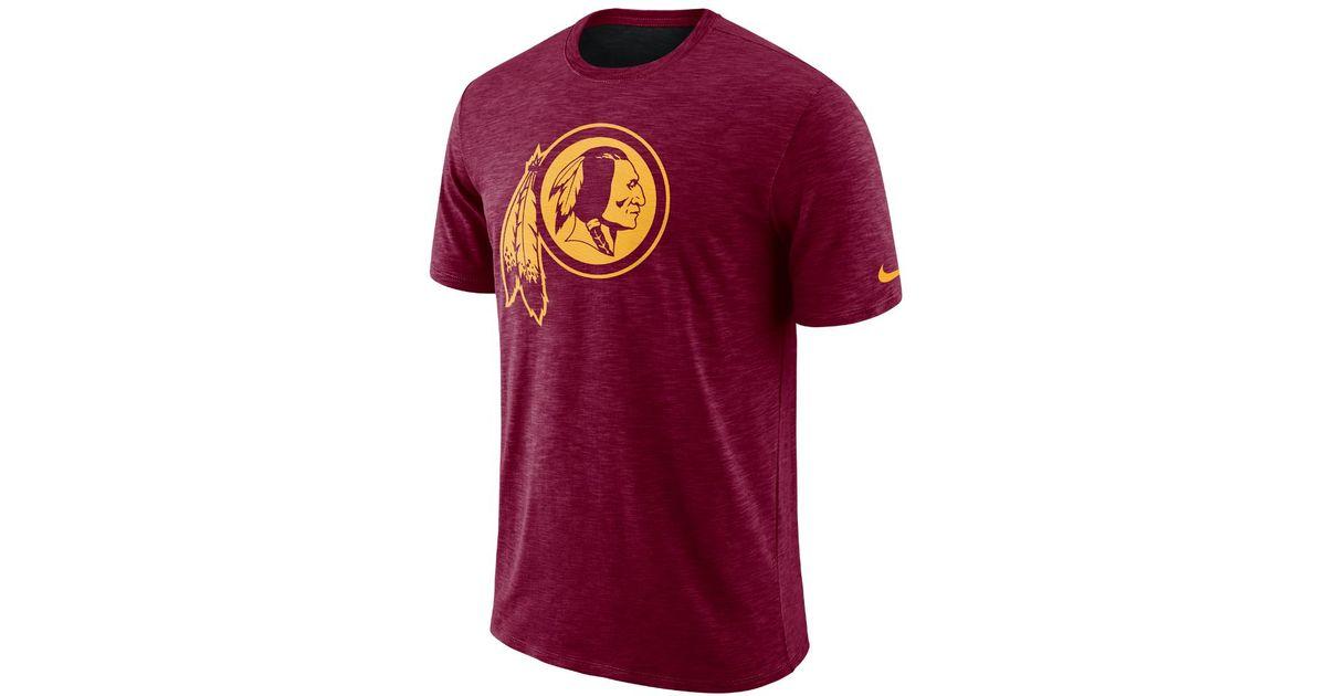 754c3c77e Lyst - Nike Dri-fit Legend On-field (nfl Redskins) Men s T-shirt in Red for  Men
