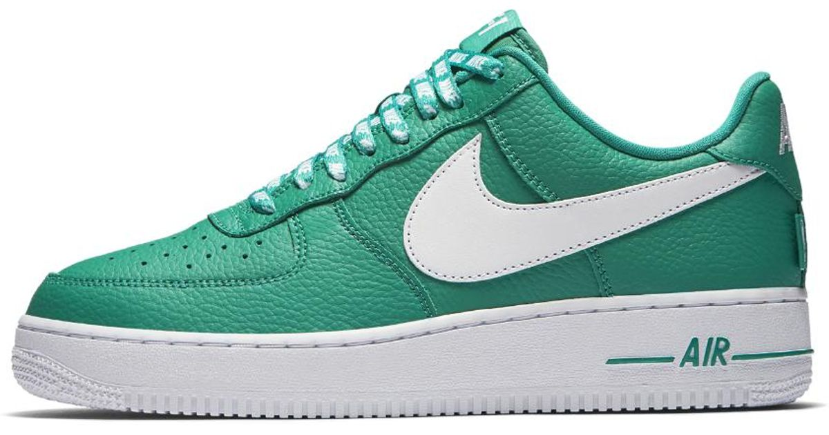 sale retailer fbd35 9d216 ... france lyst nike air force 1 low 07 nba mens shoe in green for men 39db2