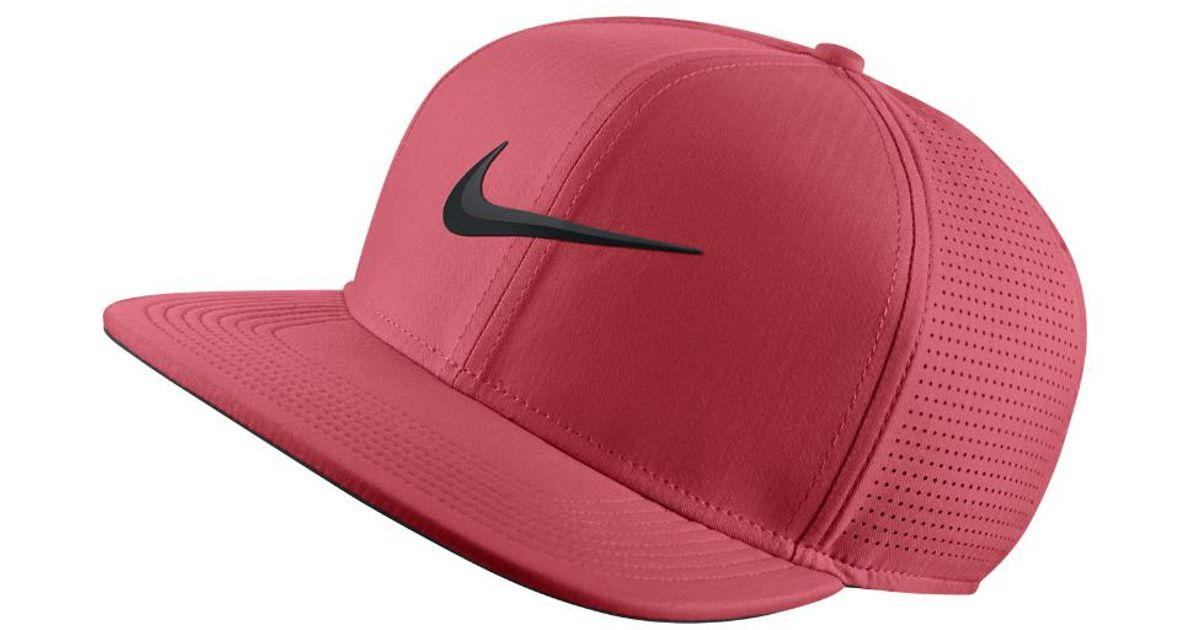 9a27f394f064c Nike Aerobill Adjustable Golf Hat (pink) - Clearance Sale in Pink for Men -  Lyst