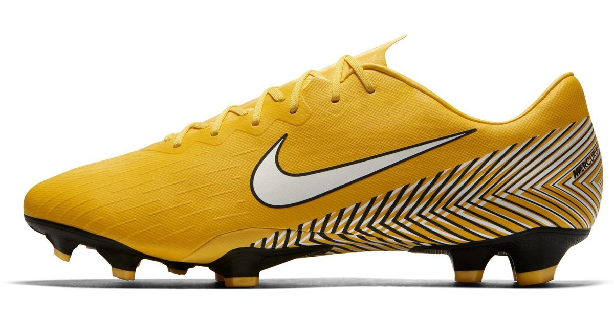 Nike Mercurial Vapor Xii Pro Neymar Jr. Firm-ground Football Boot in Yellow  for Men - Lyst 1f5c28eeba6