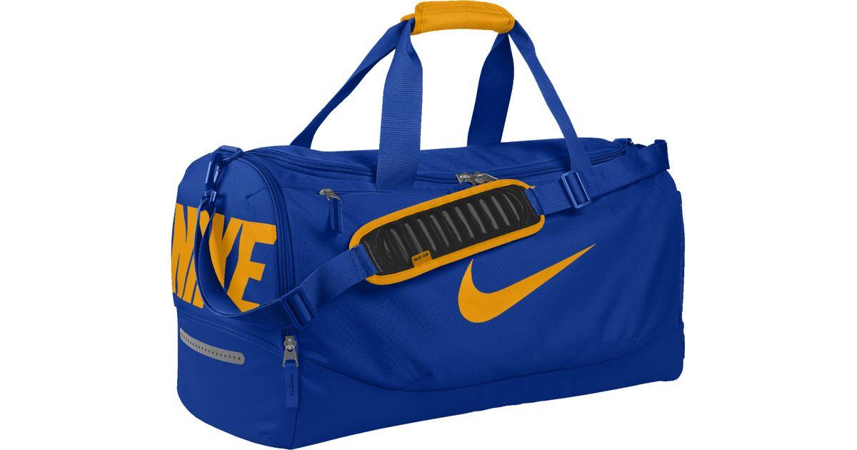 a7296b4f3b Lyst - Nike Team Training Max Air Id Duffel Bag (medium) (yellow) in Blue  for Men