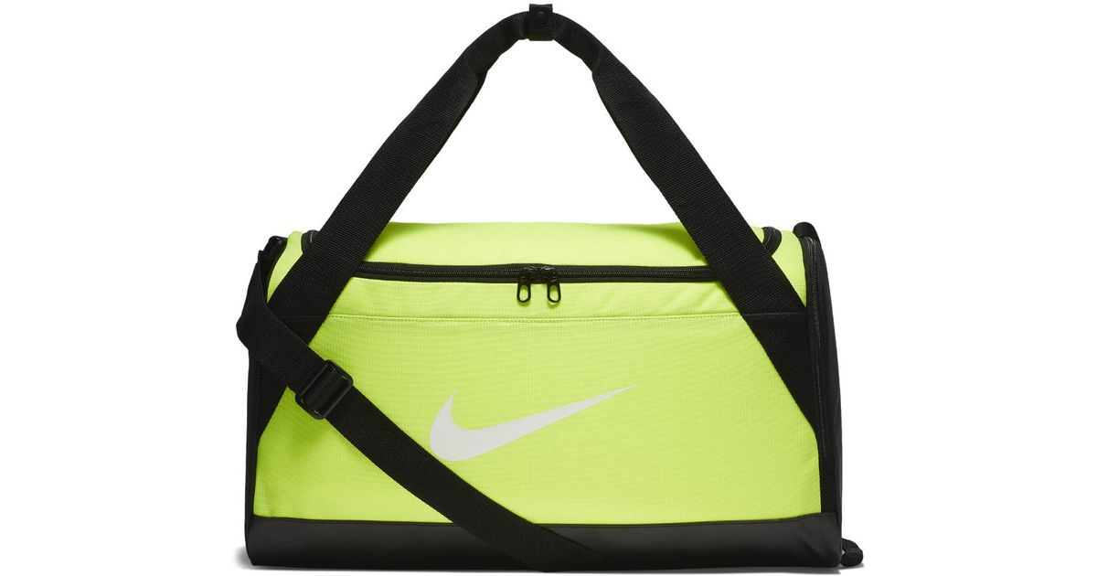 a69ffe899f0c Lyst - Nike Brasilia (small) Training Duffel Bag (yellow) - Clearance Sale  in Yellow