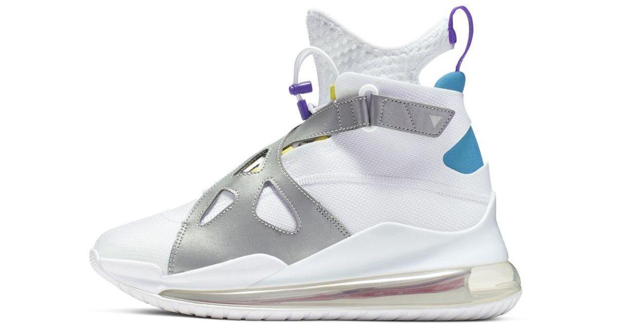 Nike White Jordan Air Latitude 720 Shoe