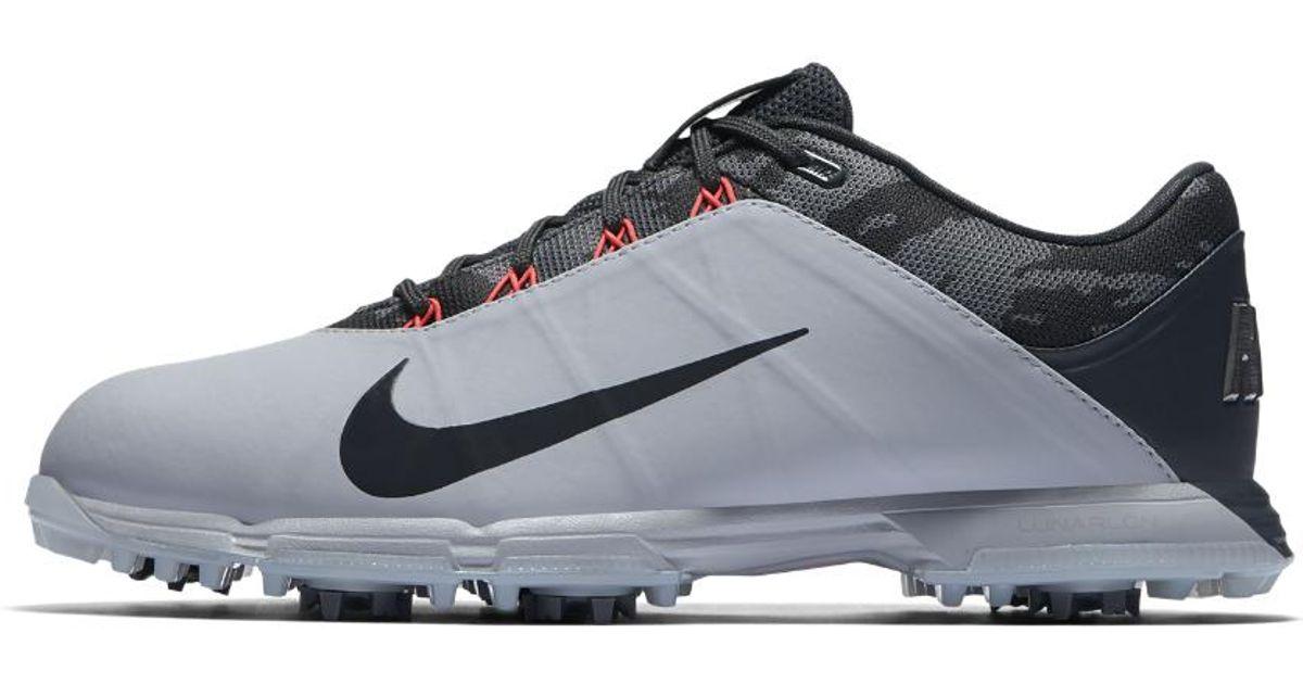 cd6fd513c6ee Lyst - Nike Lunar Fire Men s Golf Shoe in Gray for Men