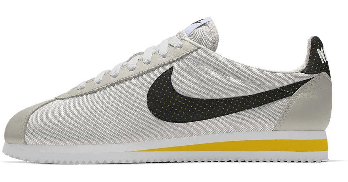 9d357844a410 Nike Multicolor Classic Cortez Premium Id Men's Shoe for men
