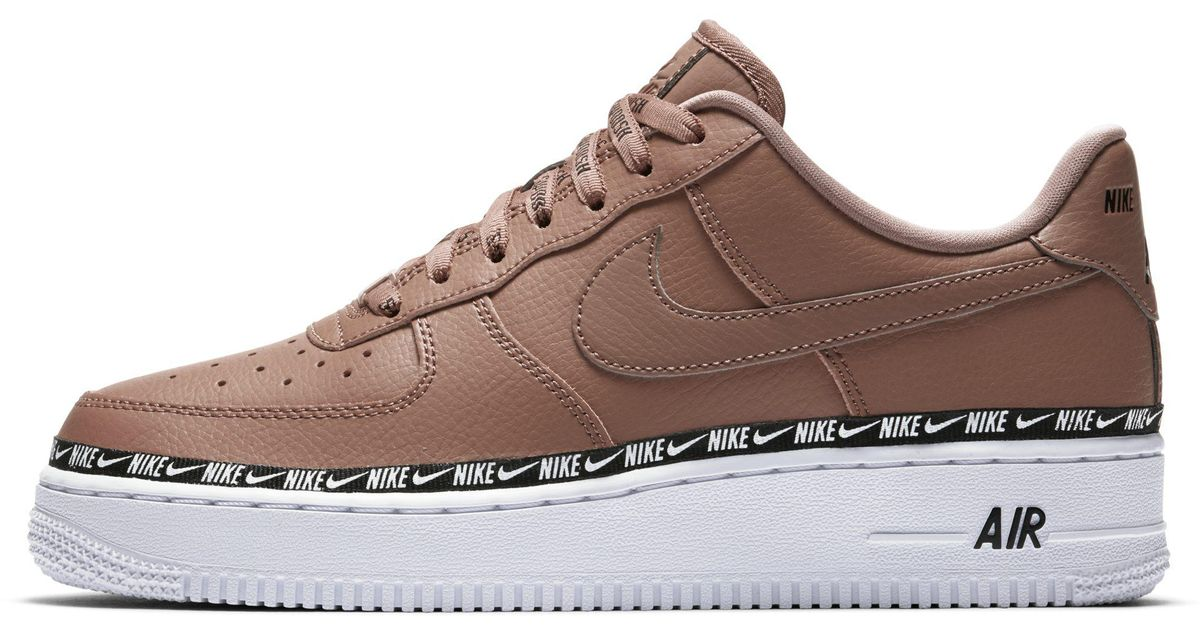 detailed images lowest price united states Nike Brown Air Force 1' 07 Se Premium Shoe