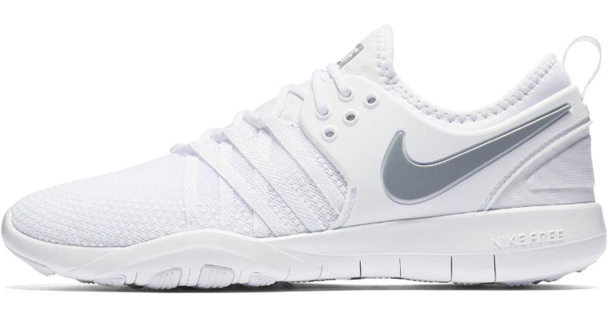6a09e41b75690 Lyst - Nike Free Tr7 Women s Training Shoe in White