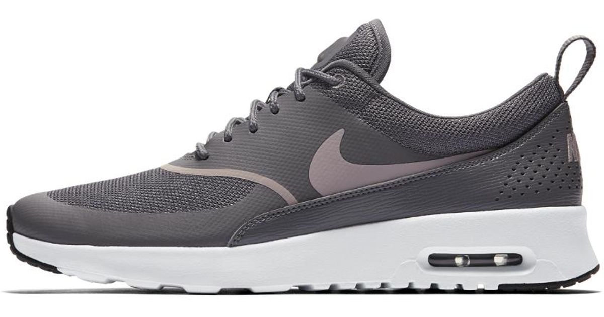 size 40 867fc a6825 Lyst - Nike Air Max Thea Women s Shoe in Black